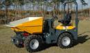 Hjuldumper Bergman 1200R med sidotipp, lastar 2000 kg