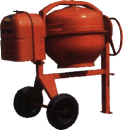 Betongblandare, 200 liter