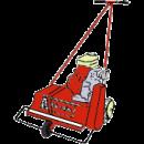 Vertikalskärare, (Mossrivare) Bensin, Honda BB450