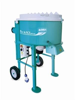 Tvångsblandare, bruksblandare Imer 120 liter